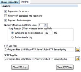 Robo-FTP Server