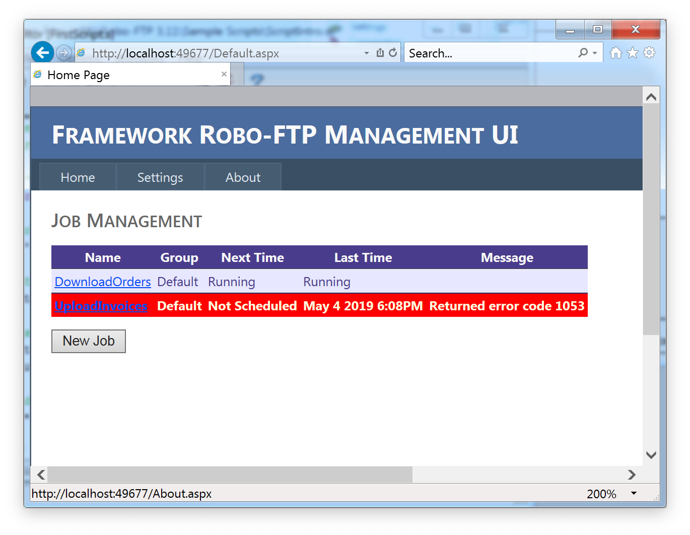 Robo-FTP Enterprise Framework